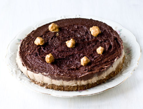 Peanut Butter & Chocolate Cake