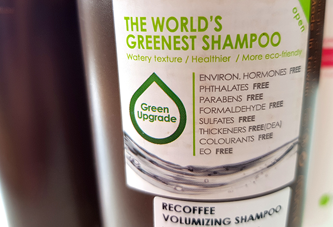 vegan shampoo o'right